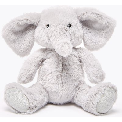 Elephant Soft Toy Rattle