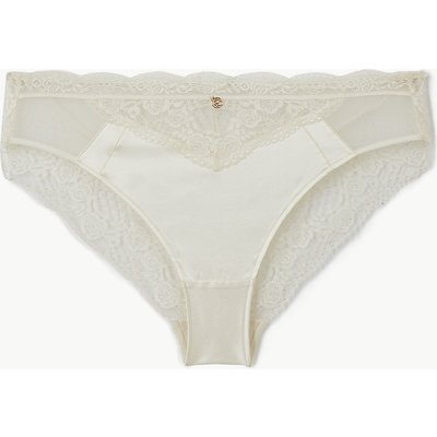 Rosie for Autograph Silk & Lace High Leg Knickers