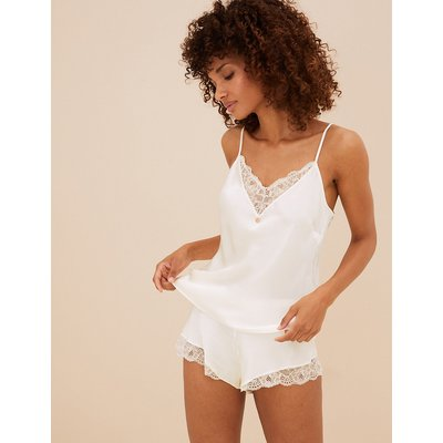 ROSIE Silk & Lace Camisole with Lurex
