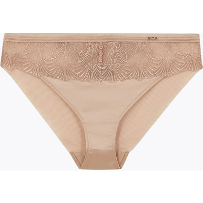 ROSIE Serenity Lace Embroidered High Leg Knickers