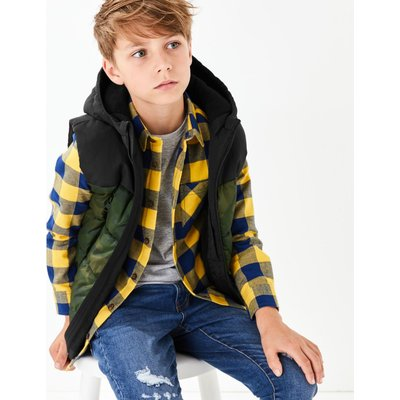 Camouflage Gilet (3-16 Years) green