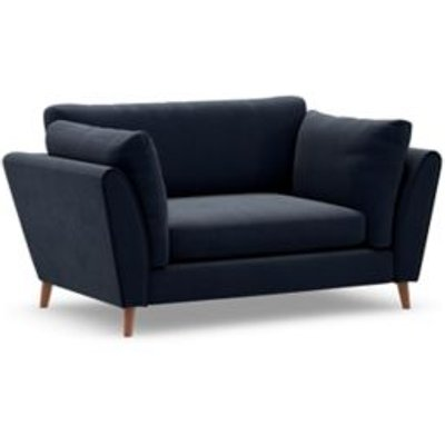 M&S Finch Loveseat - Charcoal, Charcoal,Grey,Steel,Dusky Pink,Ochre,Duck Egg,Navy,Natural,Dark Ochre,Peacock,Emerald