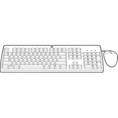 Hewlett Packard Enterprise 638214 B21 keyboard USB Russian Black - 0886111150977