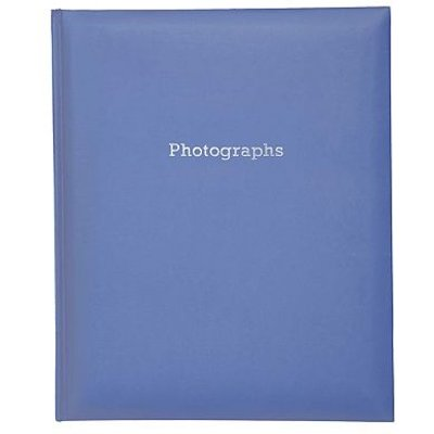 5052282043768 | Navy Blue Self Adhesive Photo Album 6x4  200 Photos