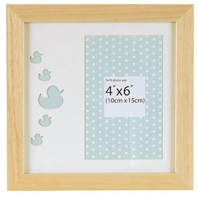 5052282048336 | Innova Editions Baby Ducks Wooden Photo Frame  6 x 4