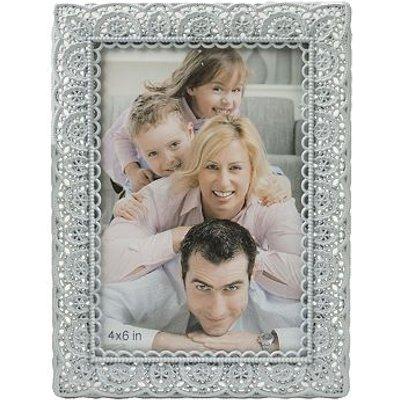 5052282048275   Innova Editions Blue Laser Cut Photo Frame  6 x 4
