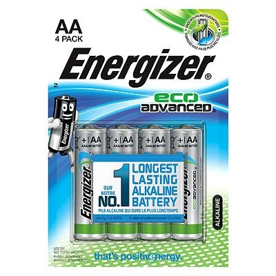 7638900410693 | Energizer Eco Advanced AAA Batteries x4
