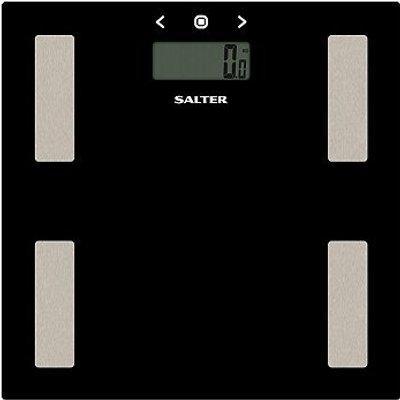 Salter Black Glass Body Analyser Scale 9150 - 5010777136098