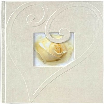 5052282070245   Wedding Heart Paper Swirl Memo 6x4 Slip In Album 200 photos