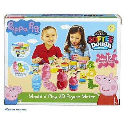 Peppa Pig Mould N Play 3D Figure Maker - 0884920210271