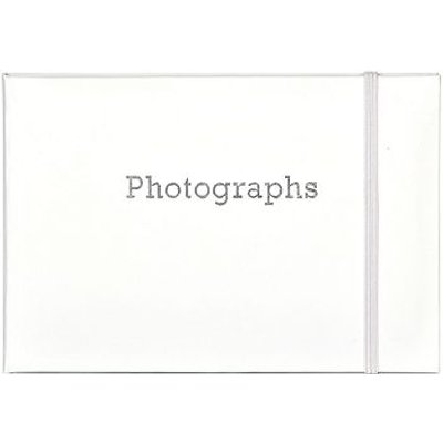 5052282078586 | White Bragbook Photo Album Holds 24 Individual 6x4 Photographs