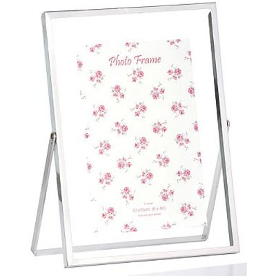 5052282078715 | Silver 6x4 Easel Photo Frame