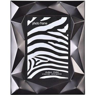 Black 5x7 Geometric Detail Photo Frame - 5052282078807