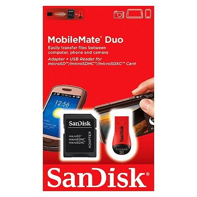 Sandisk MicroSD to SD Adapter - 0619659059446