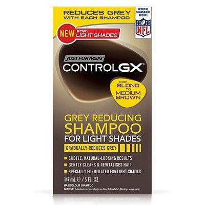 Just for Men Control GX Grey Reducing Shampoo Lighter Shades 147ml
