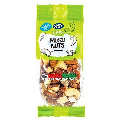 Boots Nibbles Mixed Nuts 150g - 5045098157170
