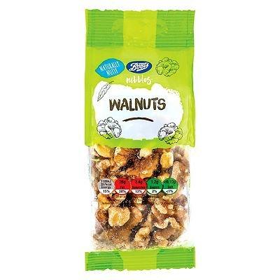 Boots Nibbles Walnuts 100g - 5045098157187