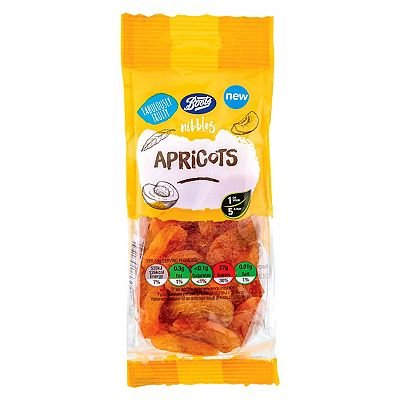 Boots Nibbles Apricots 150g - 5045098157194