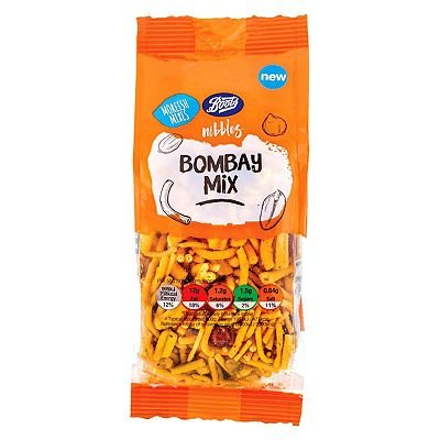 Boots Nibbles Bombay Mix 100g - 5045098157088