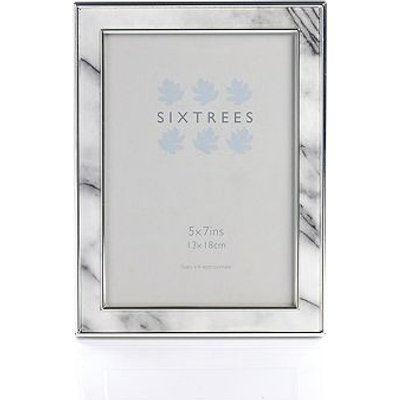 Sixtrees georgette marble photo frame 5x7 - 5016107029955