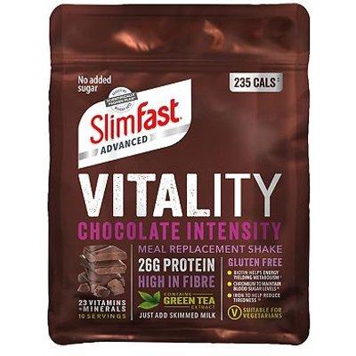 SlimFast Advanced Vitality Shake Chocolate Intensity - 400g
