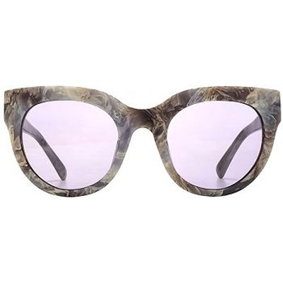 French Connection Premium Sunglasses Moden Cateyes Acetate Ladies Grey Marble 26French ConnectionA04