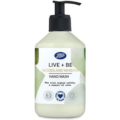 Boots Live + Be Woodland Whisper Hand Wash