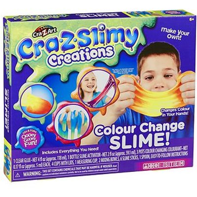Cra Z Slimy Creations Colour Changing Slime - 0884920188631