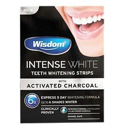 Wisdom Intense White Charcoal Whitening Strips