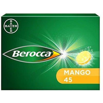 Berocca Mango 45 Effervescent Tablets