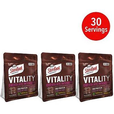 SlimFast Advanced Vitality Shake Chocolate Intensity - 400g x 3