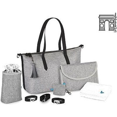 Babymoov Le Champs Elyses Smokey Changing Bag - 3661276163829