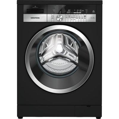 Grundig GWN49460CB 9 kg 1400 Spin Washing Machine - Black, Black