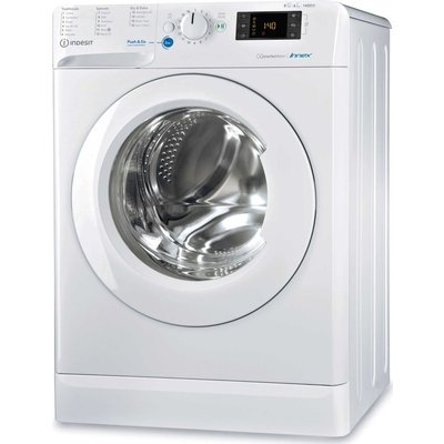 INDESIT Innex BDE 861483X W UK N 8 kg Washer Dryer - White, White