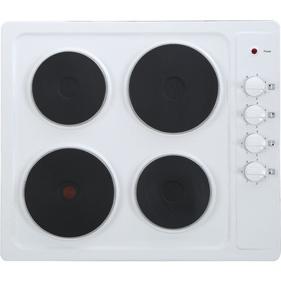 ESSENTIALS  CSPHOBW15 Electric Solid Plate Hob   White  White - 5017416540902