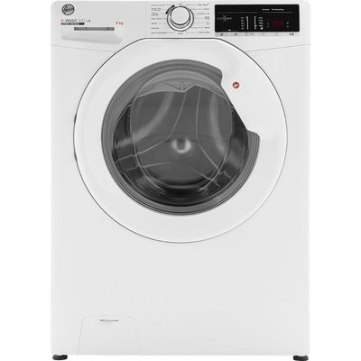 HOOVER H-Wash 300 H3W49TE NFC 9 kg 1400 Spin Washing Machine - White, White