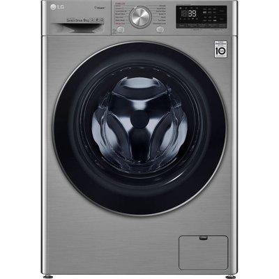 LG TurboWash with AI DD V7 F4V709STS WiFi-enabled 9 kg 1400 Spin Washing Machine - Graphite, Graphite