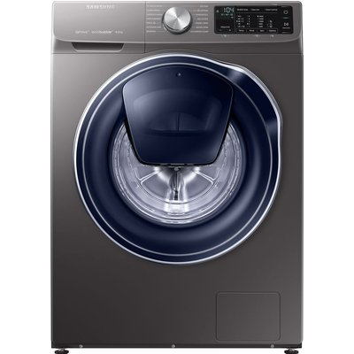 SAMSUNG QuickDrive WW80M645OPX Smart 8 kg 1400 Spin Washing Machine - Graphite, Graphite