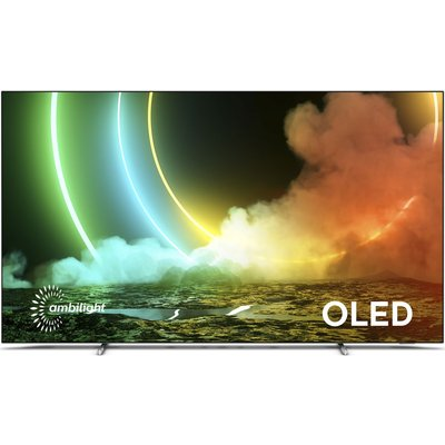 """55"""" PHILIPS 55OLED706/12  Smart 4K Ultra HD HDR OLED TV with Google Assistant"""