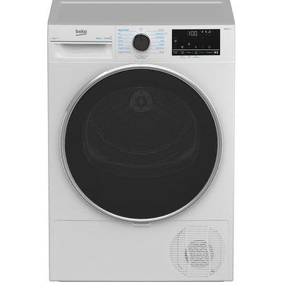 BEKO B5T4923RW 9 kg Heat Pump Tumble Dryer - White, White
