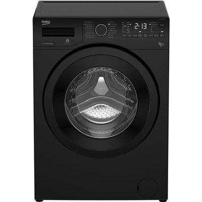 Beko Washer Dryer WDX8543130B  - Black, Black