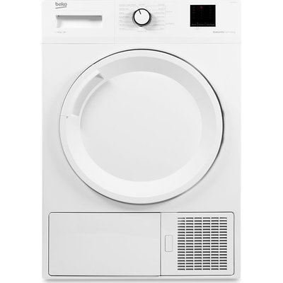 Beko Tumble Dryer DTBP8001W 8 kg Heat Pump  - White, White