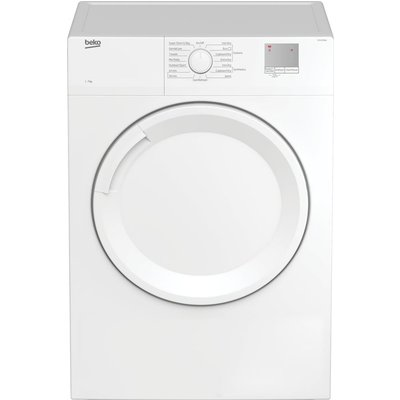 DTGV7000W 7 kg Vented Tumble Dryer - White, White