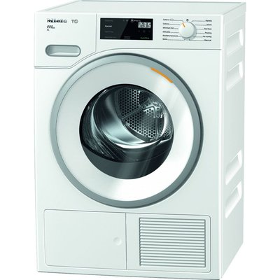 MIELE T1 TWH620 WP 9 kg Heat Pump Tumble Dryer - White, White
