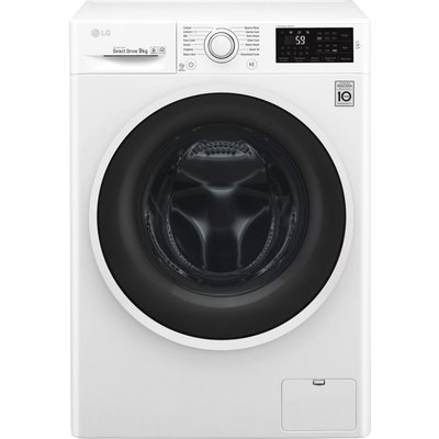 LG F4J609WN NFC 9 kg 1400 Spin Washing Machine - White, White