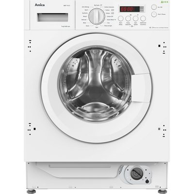 AMICA AWT714S Integrated 7 kg 1400 Spin Washing Machine, White