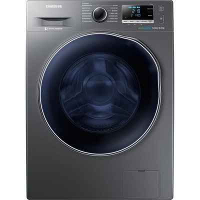 SAMSUNG ecobubble WD90J6A10AX 9 kg Washer Dryer - Graphite