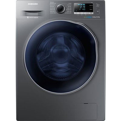 Samsung Washer Dryer ecobubble WD90J6A10AX 8 kg  - Graphite, Graphite