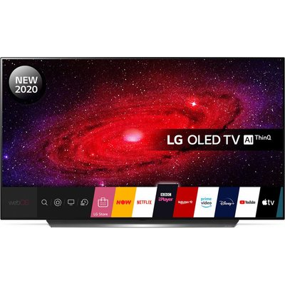 "55"" LG OLED55CX6LA  Smart 4K Ultra HD HDR OLED TV with Google Assistant & Amazon Alexa"