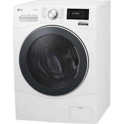 LG Centum FH6F9BDS2 Smart Washing Machine - White, White